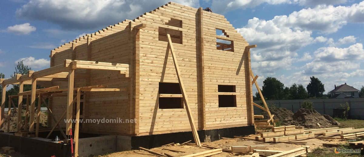 Строить дом из клееного бруса своими руками 29