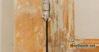 Удаление краски с деревянных окон