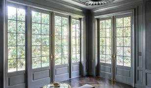 Деревянные французские окна