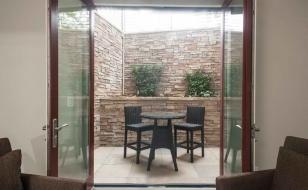 Окна-двери из стеклокомпозита