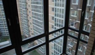 Фото балкона с французским остеклением изнутри