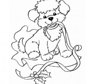 Вытынанка - собачка