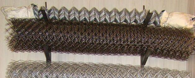 Сколько метров в рулоне сетки рабицы