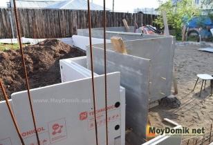 Как я строил дом из несъемной опалубки