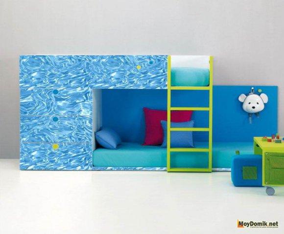 3д панели в интерьере детской комнаты