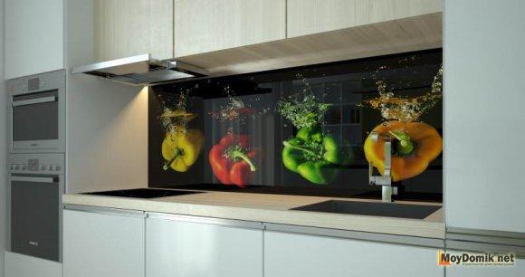 3d стеновые панели на кухне