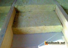 Звукоизоляция межэтажных деревянных перекрытий минватой