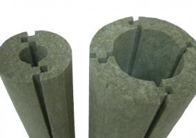 Теплоизоляция для труб отопления - кожух из минеральной ваты