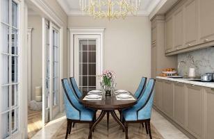 Интерьер небольшой кухни в классическом стиле
