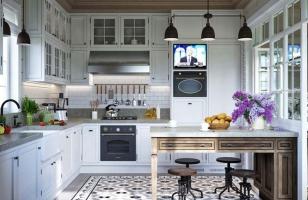 Интерьер кухни в стиль Прованс