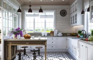 Дизайн кухни в стиль Прованс