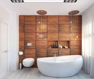 Деревянные фасады в ванной